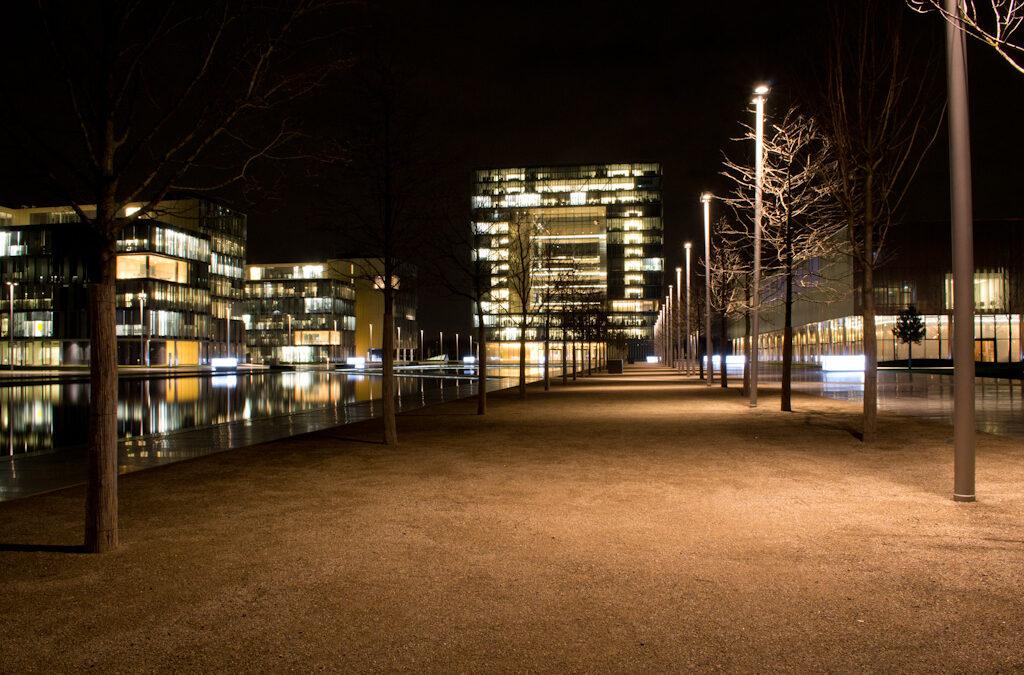 ThyssenKrupp in Essen – Nightshot