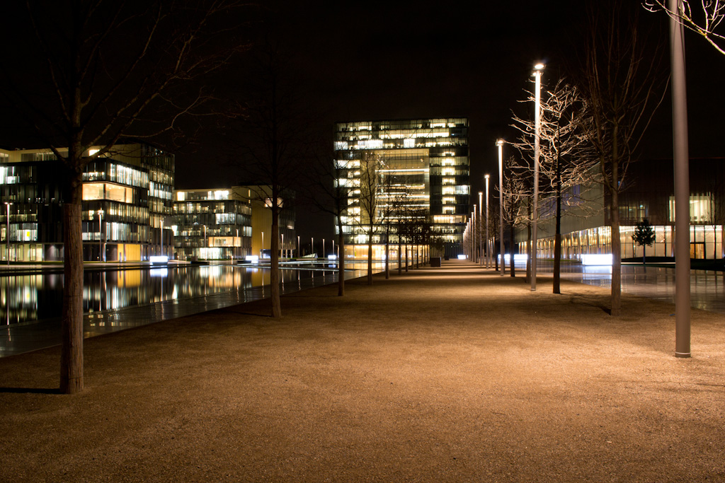 ThyssenKrupp in Essen – Nightshot