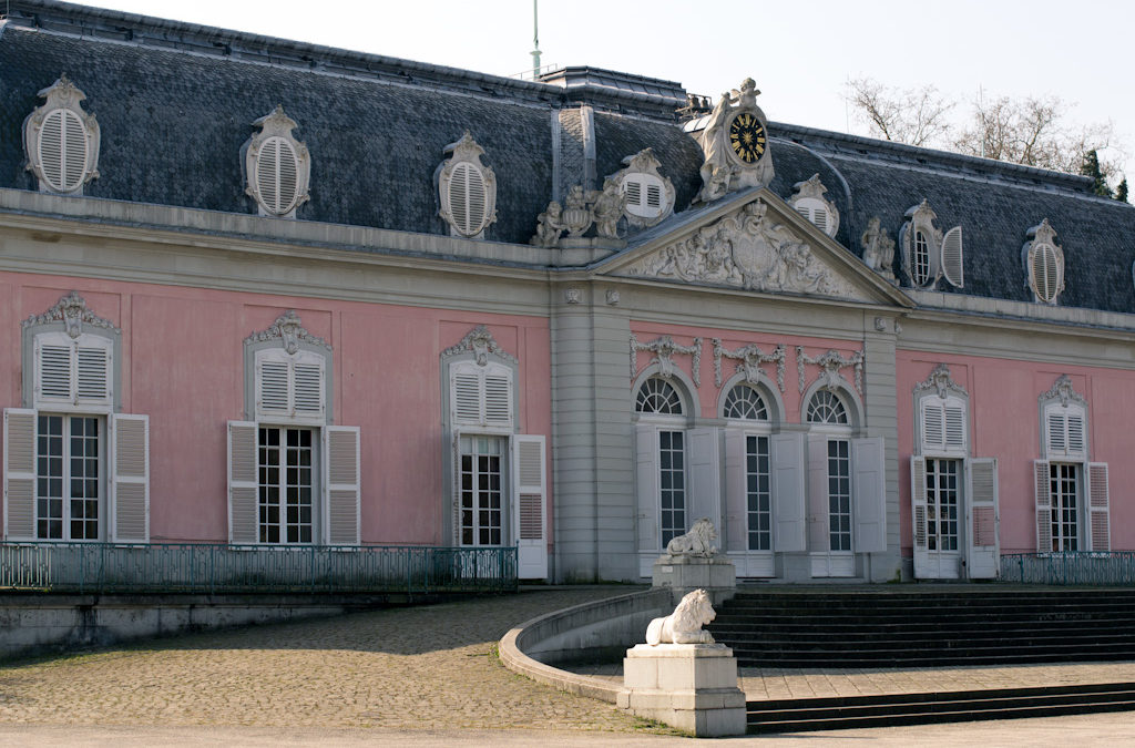 Schloss Benrath im Frühling