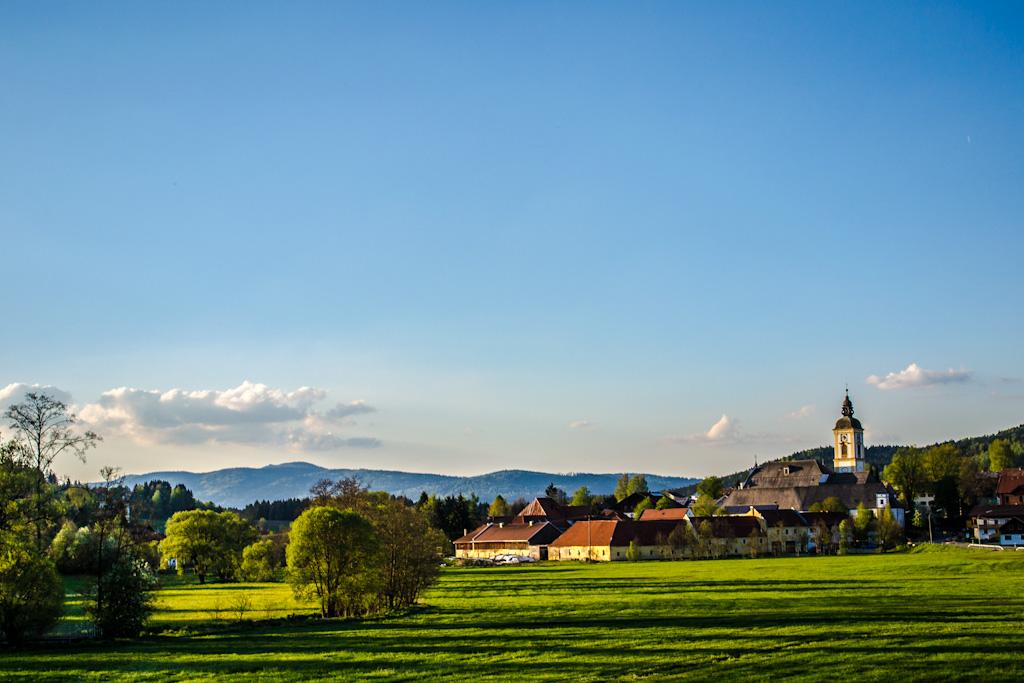 Im bayerischen Wald unterwegs