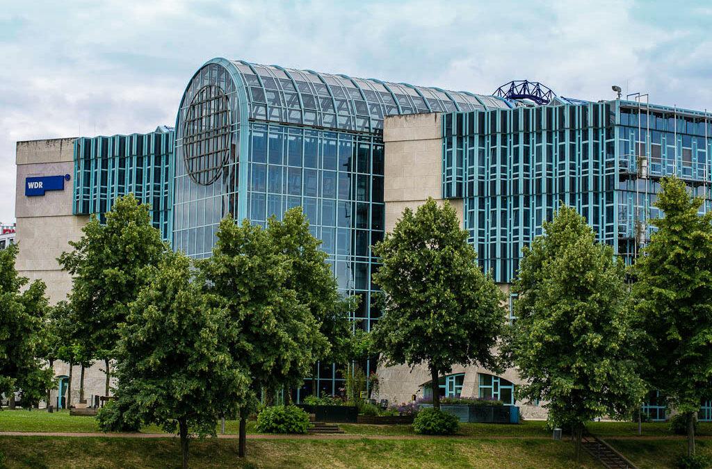Medienhafen mit dem Ultraweitwinkel
