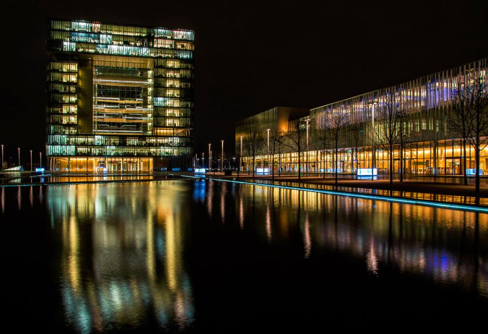 Thyssen bei Nacht