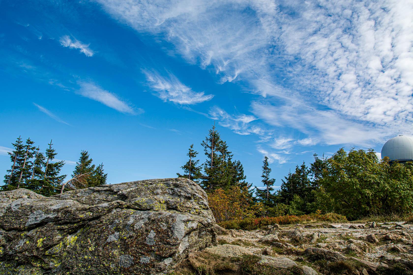 Im bayerischen Wald am großen Arber
