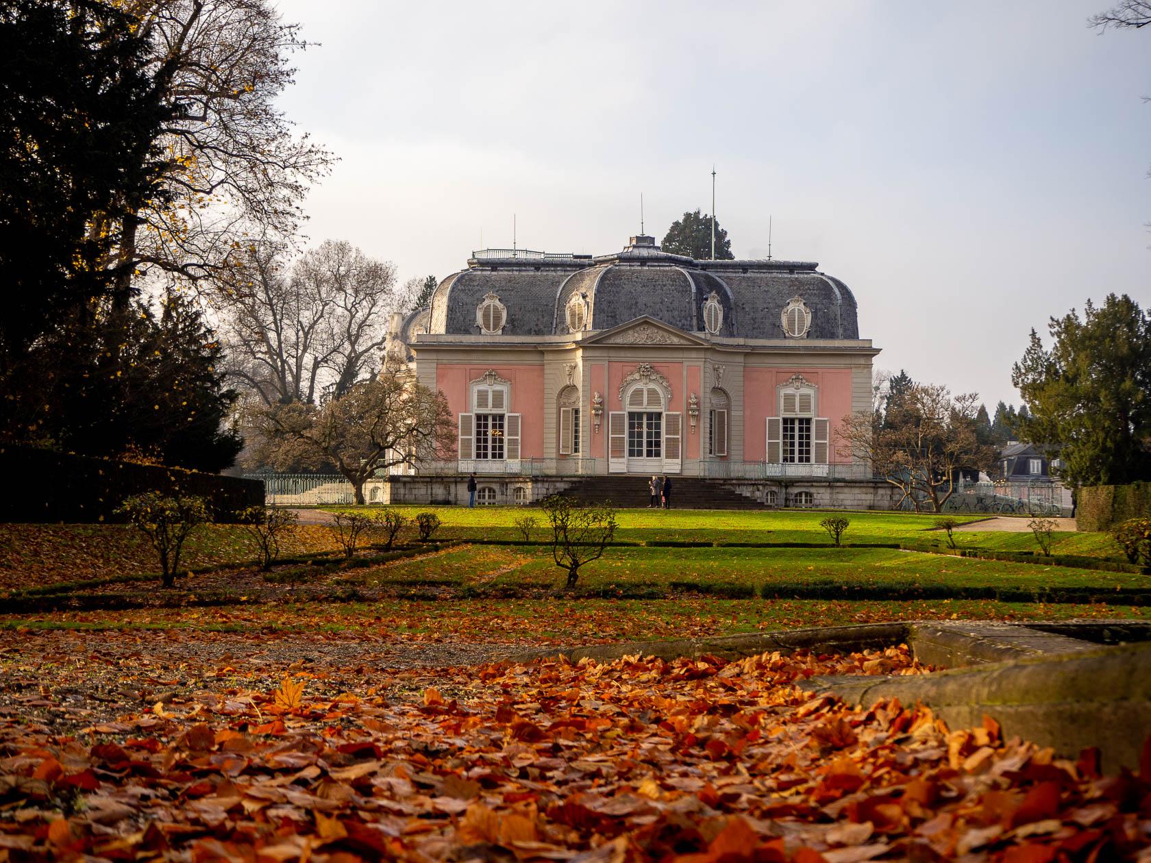 Der Herbst in Benrath