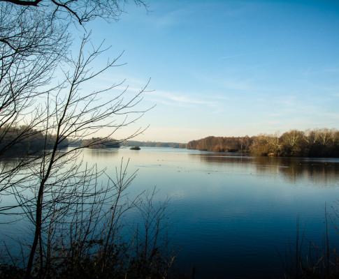 Sonntag, Sonne, Unterbacher See