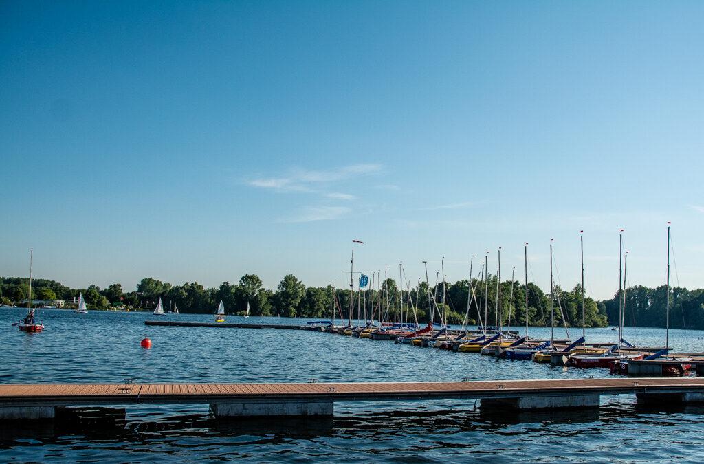 Ein Juliabend am Unterbacher See
