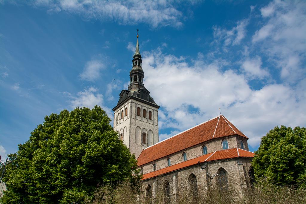 In Old Town Tallinn unterwegs