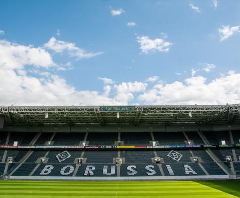 Ein Besuch im Stadion Mönchengladbach