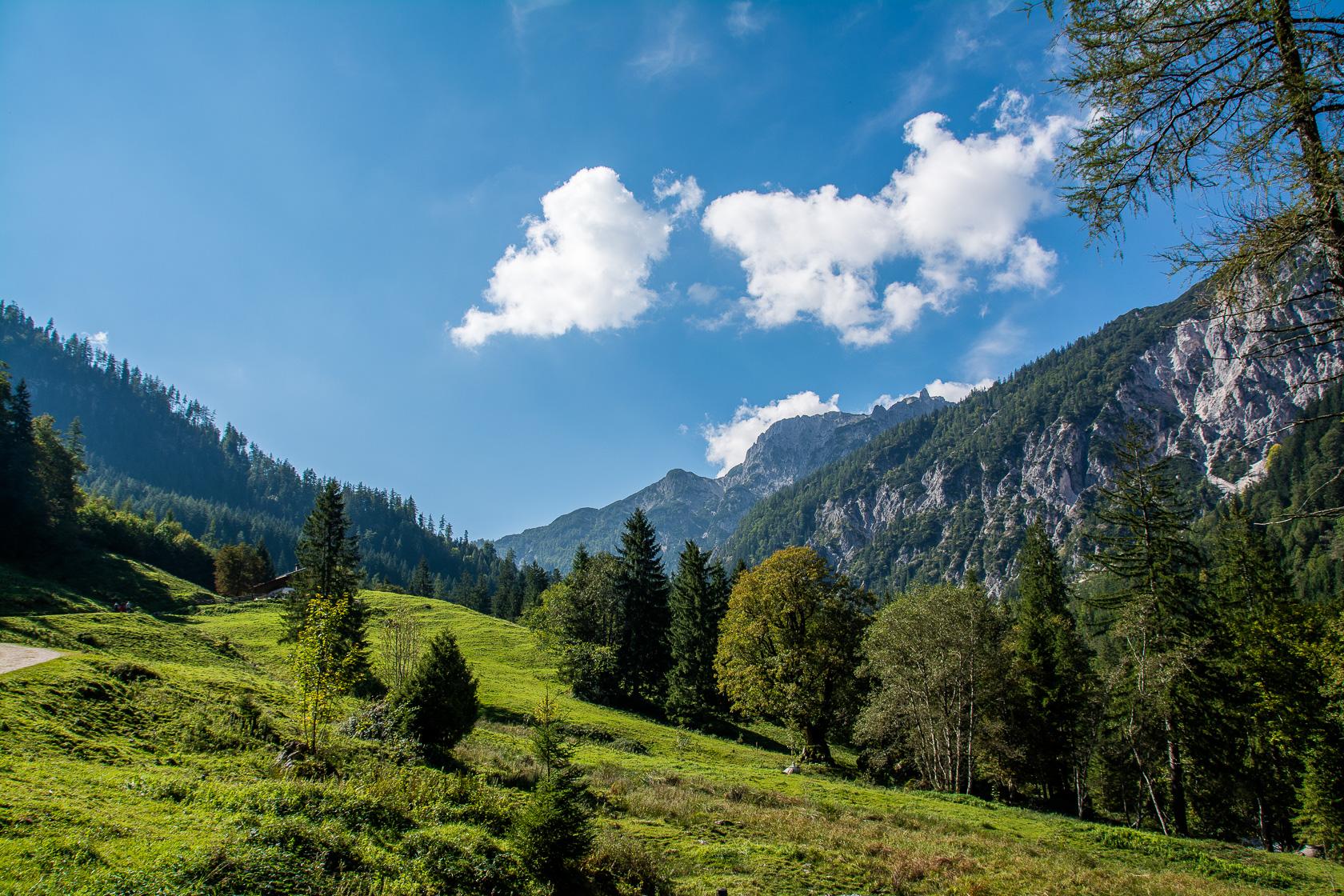 Geocaching Trail im wunderschönen Klausbachtal