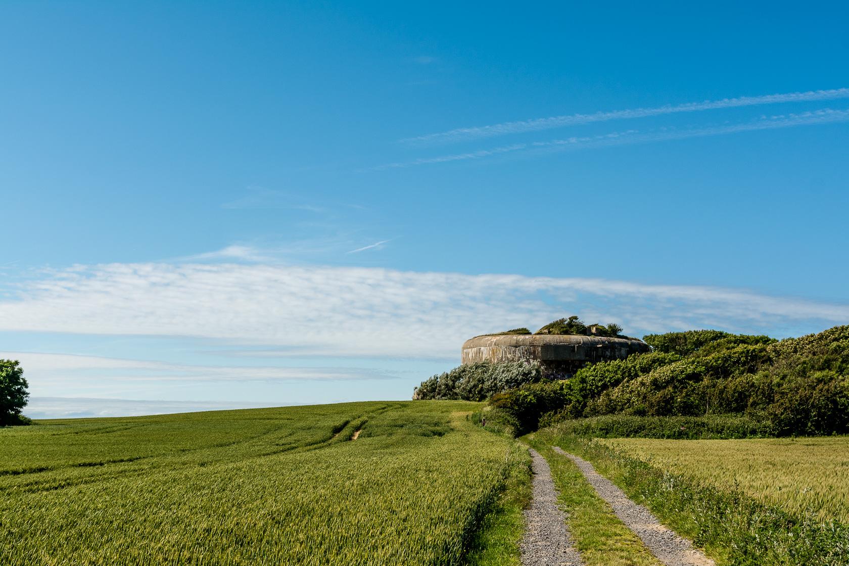 Nordfrankreich – Cap Blanc-Nez, Batterie Todt und netter Bunker :)