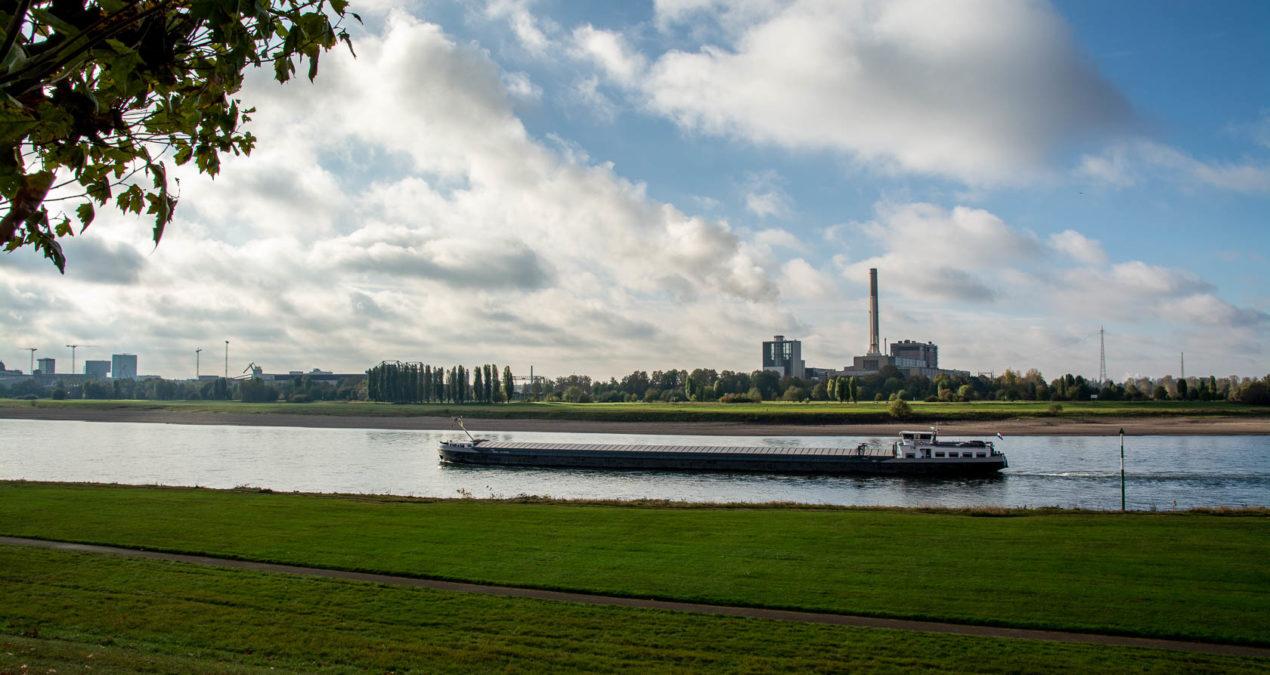 Mit dem Eifelverein am Rheinufer entlang